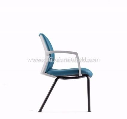 FITS EXECUTIVE VISITOR CHAIR WITH STEEL BASE AFTL7114