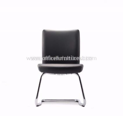 ERGO EXECUTIVE VISITOR CHAIR WITH STEEL CHROME CANTILEVER BASE AER3814L