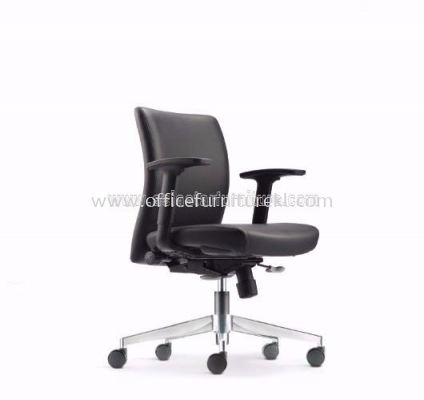 ERGO EXECUTIVE LOW BACK CHAIR WITH CHROME AER3812L
