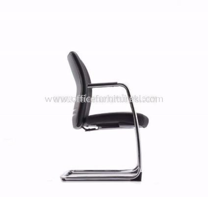 ERGO EXECUTIVE VISITOR CHAIR WITH STEEL CHROME CANTILEVER BASE AER3813L