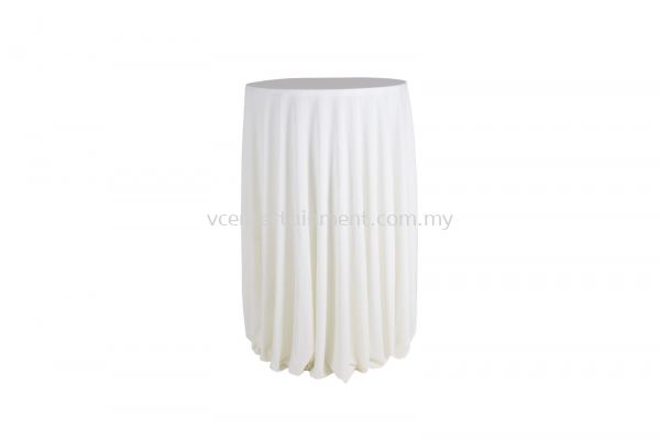 Cream Normal Hi Bar Table Cloth