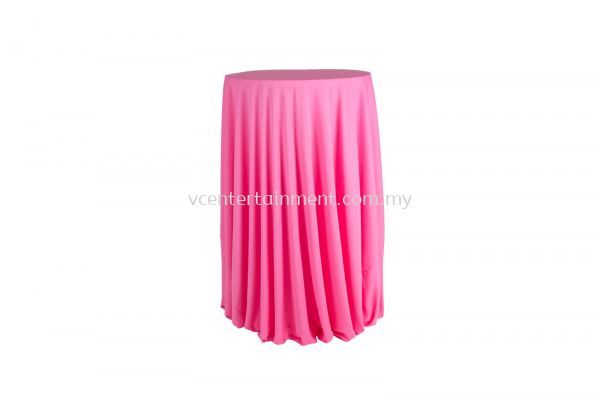 Pink Normal Hi Bar Table Cloth