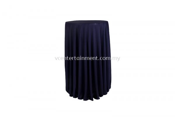 Navy Blue Normal Hi Bar Table Cloth