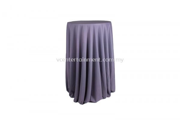 Dark Grey Normal Hi Bar Table Cloth