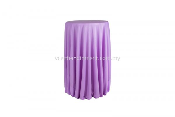 Light Purple Hi Bar Table Cloth