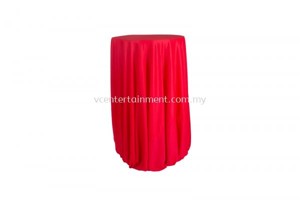 Red Normal Hi Bar Table Cloth