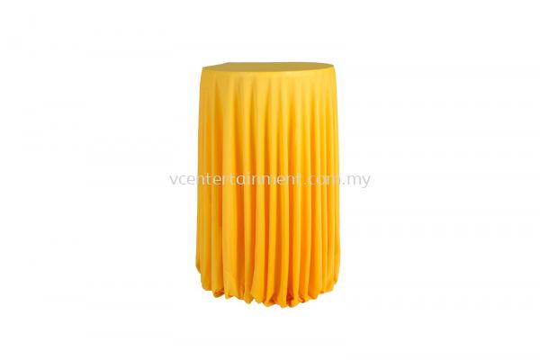 Yellow Normal Hi Bar Table Cloth