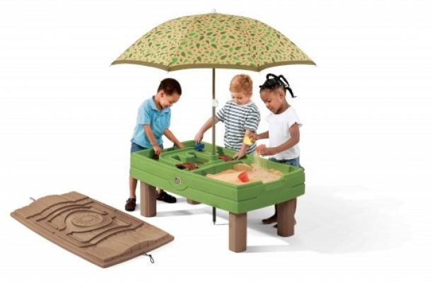 S2-7878 Naturally Playful® Sand & Water Activity Center