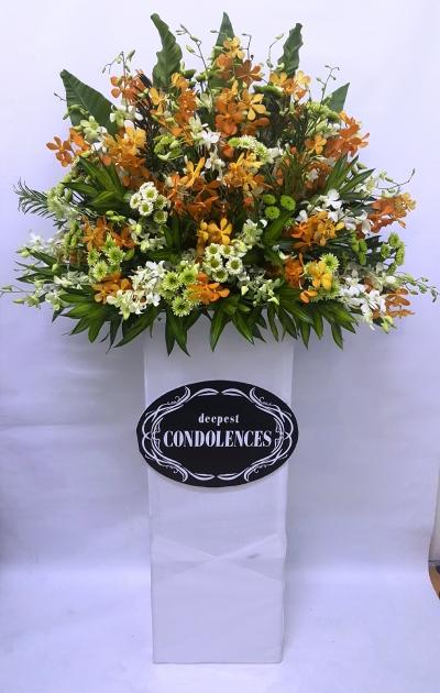 Funeral Orchid Arrangment (FA-146)