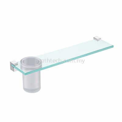 Design Glass Shelf & Tumbler (100250)