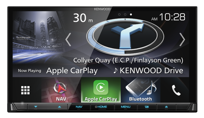 DNX-9170S 7inch WVGA Capacitive Touch Screen AV Receiver