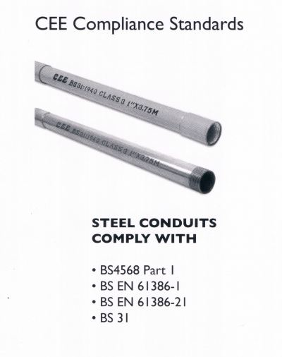 CEE Electrical GI Conduit Pipe
