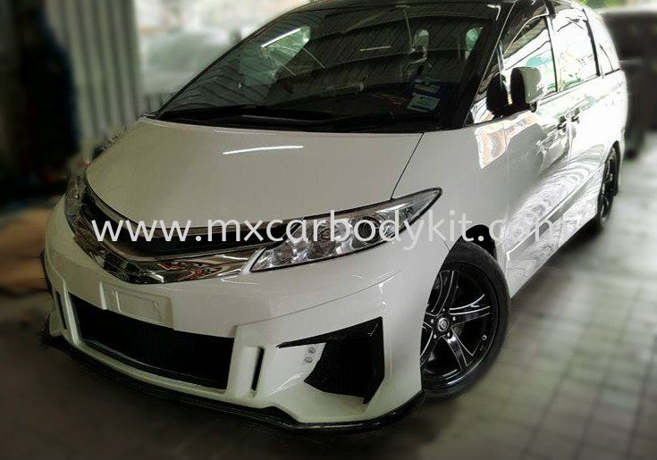 TOYOTA ESTIMA ACR50 JEMOTION DESIGN FRONT BUMPER ESTIMA ACR50 - ACR55 TOYOTA Johor, Malaysia, Johor Bahru (JB), Masai. Supplier, Suppliers, Supply, Supplies | MX Car Body Kit
