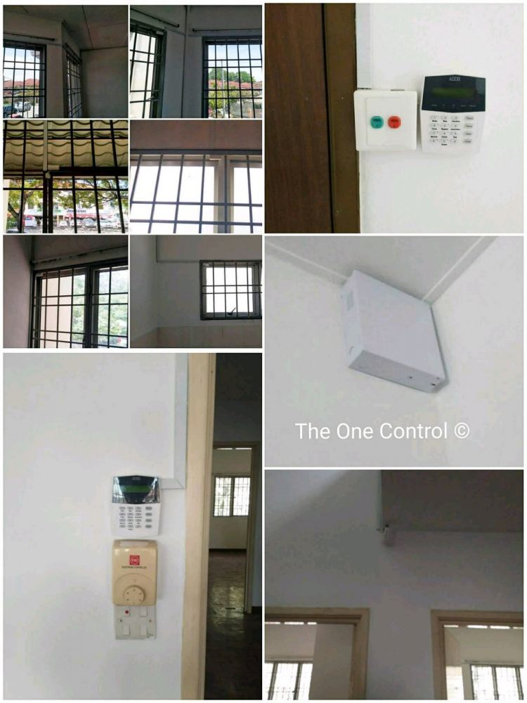 Security Alarm System . Kota damansara . 18 May 2017 .