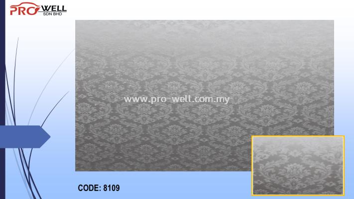 PVC WALLPAPER 8109