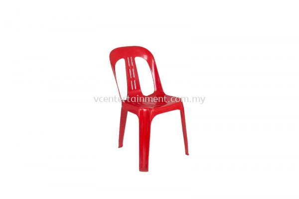 Plastic Chair Chili Red