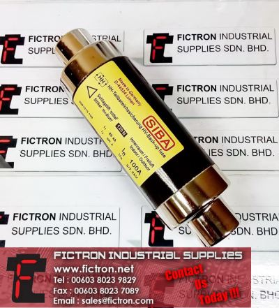3001013.100 SIBA HV-Back-up Fuse Indoor-Outdoor 100A 7.3kV 63kA 80N Supply Malaysia Singapore Thailand Indonesia Europe & USA