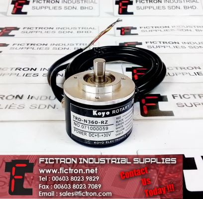TRD-N360-RZ KOYO Optical Rotary Encoder 5-30VDC Supply Malaysia Singapore Thailand Indonesia Europe & USA