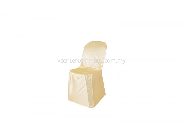 Gold Normal Plastic Chair Cover