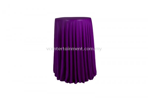 Dark Purple Normal Hi Bar Table Cloth