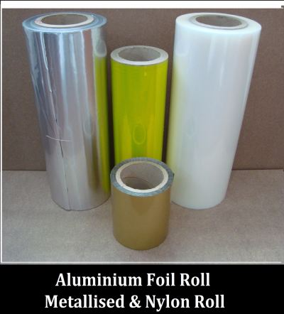 Alu Foil Metalised Nylon Rolls
