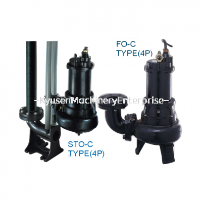 "Auto setter / Floor Mount ""S TO-C Sewage Cutter Pump"""