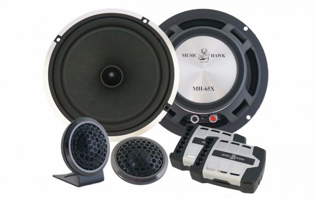 "MH-65X Music Hawk 6.5"" Component Set"