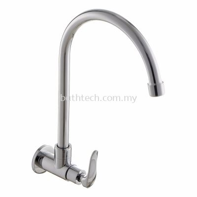 "Fermo 1/2"" Wall Mounted Sink Tap (300934)"