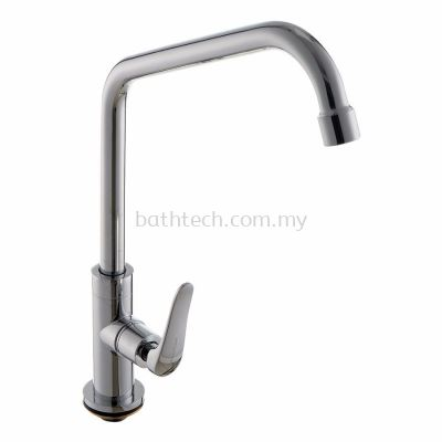 "Fermo 1/2"" Deck Mounted Sink Tap (300935)"