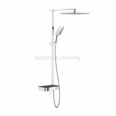 S/Lever Wall Mounted Shower Mixer Column (301216)