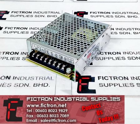RT-65B MEANWELL Power Supply 100-240VAC 2.0A 5-12VDC 5-2.8A -12VDC 0.5A Supply Malaysia Singapore Thailand Indonesia Europe & USA