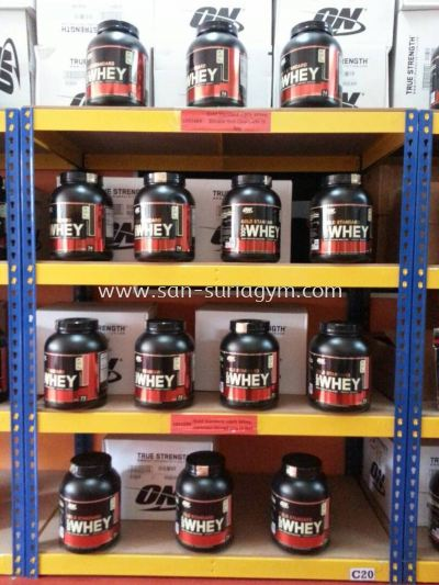Optimum Nutrition promotion