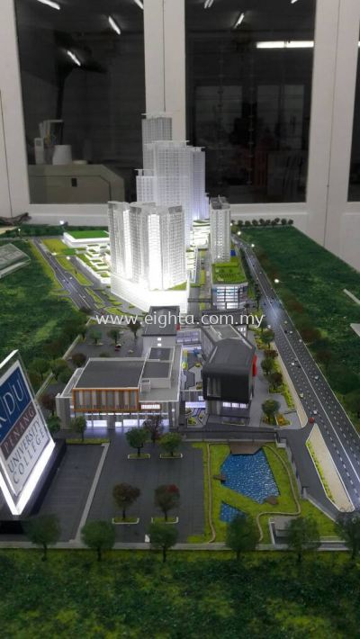 Master Layout Model..BK Utrapolis Plot And KDU Callege