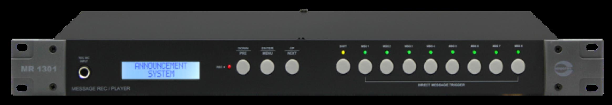 MR1301 [ DIGITAL MESSAGE RECORDER / PLAYER ]