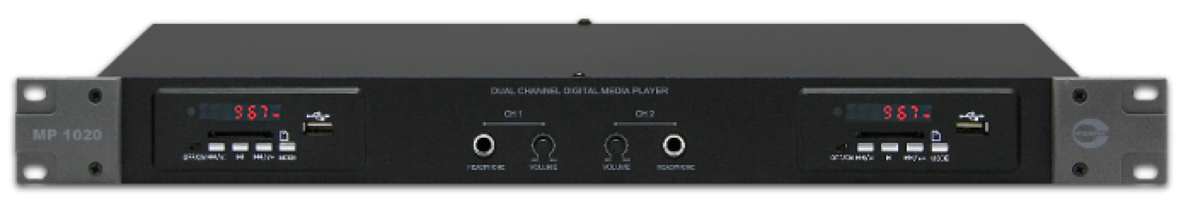 MP1020 [ 2 CHANNEL MEDIA PLAYER ]