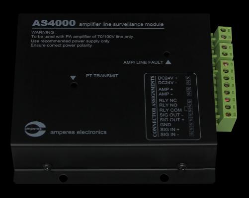 AS4000 [ AMPLIFIER SURVEILLANCE MODULE ]