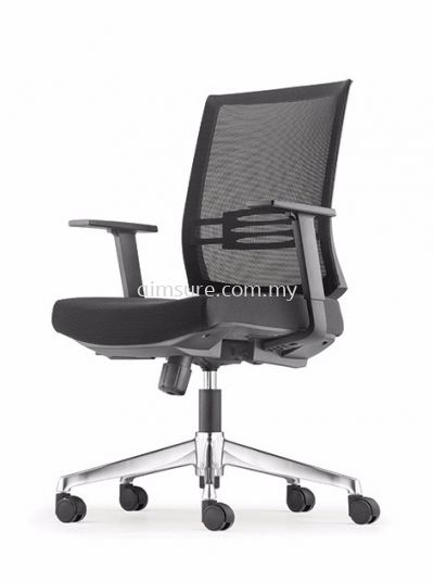 Intouch Presidential low back chair AIM8313N-AHB