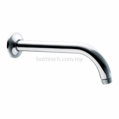 Brass Shower Arm and Flange, Length 200 mm (300577)