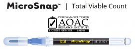 Hygiena Indicator Organism Tests �C MicroSnap™ Total Viable Count Indicator Organism Tests Hygiena