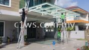 Clean Glass Awning Clean Glass Awning