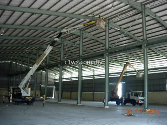 Spring Cleaning for Factory, Restaurant & Hall