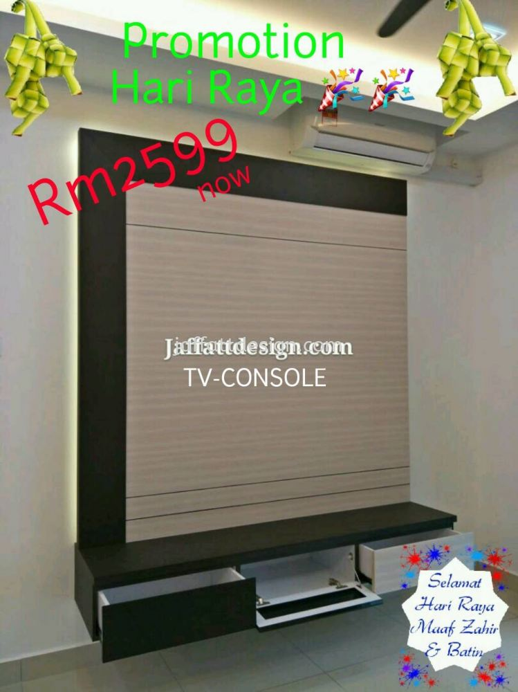 Tv Console Promotion RM 2599