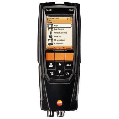 Testo 320 Basic - Compact Flue Gas Analyzer [SKU 0632 3223]
