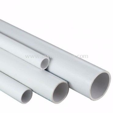 High Impact Pipe 25mm White
