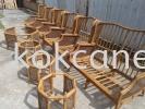 Rattan sofa set (Repair & Varnish) Rattan Chair Repair