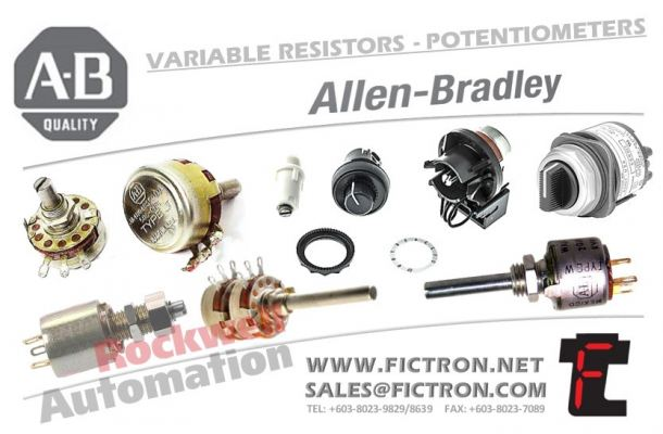 401286-A 401286A POTENTIOMETER AB - Allen Bradley - Rockwell Automation Supply Malaysia Singapore Thailand Indonesia Philippines Vietnam Europe & USA