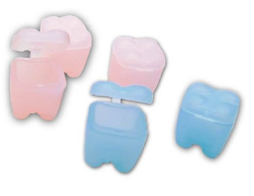 Milk Tooth Case - Blue/ Pink (Code-889B,889P)