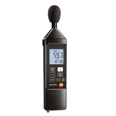 Testo 815 - Sound Level Meter [Delivery: 3-5 days]