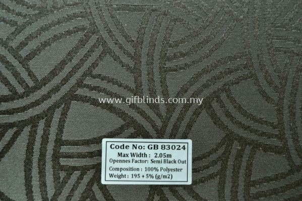Semi Black Out Sample GB83024