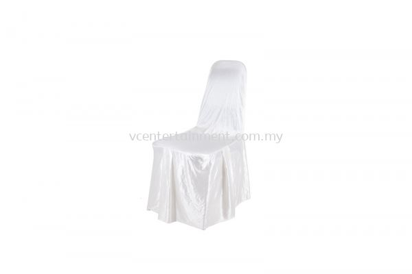 Cream Normal Banquet Chair Cover